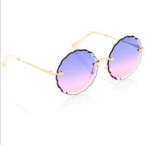 NWT Chloe rosie 60mm scalloped sunglasses